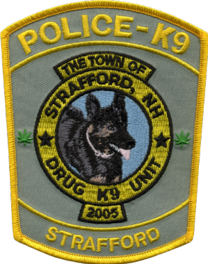 K-9 Patch Non Dig